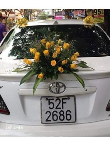 Hoa xe cưới 25