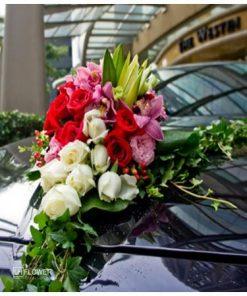Hoa xe cưới 8