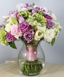 Hoa cầm tay cô dâu Lộng Lẫy