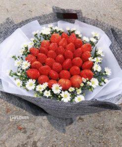 Hoa Ăn Được Dâu Ngọt Ngào