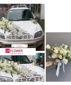 hoa cưới đơn giản