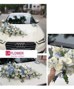 mẫu hoa cầm tay cô dâu