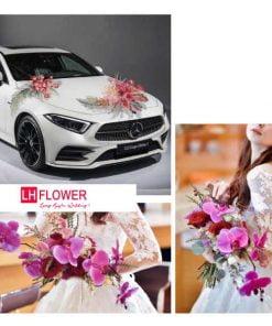mẫu xe hoa cưới đẹp