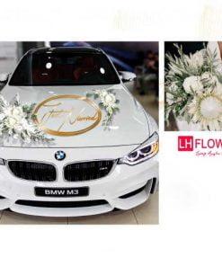 trang trí xe hoa cưới giá rẻ