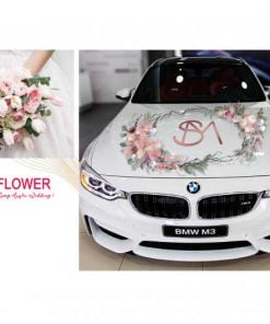 xe hoa cưới đẹp