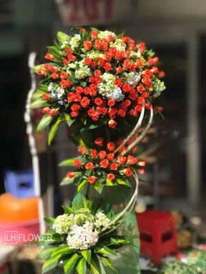 Lẵng hoa cưới