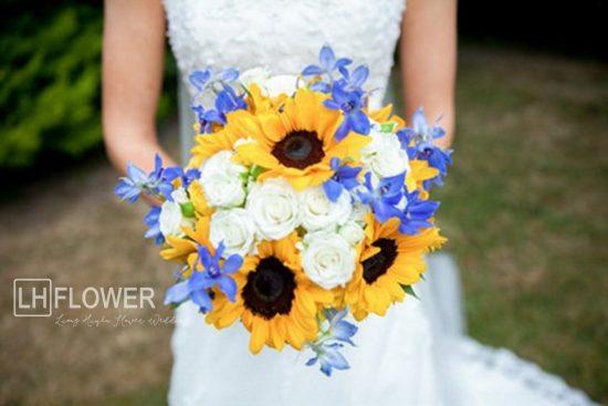 Ý nghĩa hoa cưới hoa hướng dương